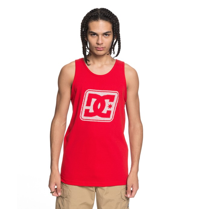 0 Men's Endless Tank Red ADYZT04313 DC Shoes