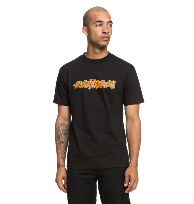 0 Wildstyle Tee Black ADYZT04355 DC Shoes