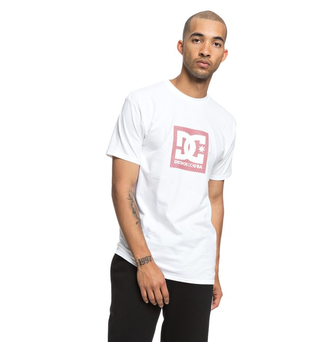 0 Pill Boxing Tee White ADYZT04375 DC Shoes