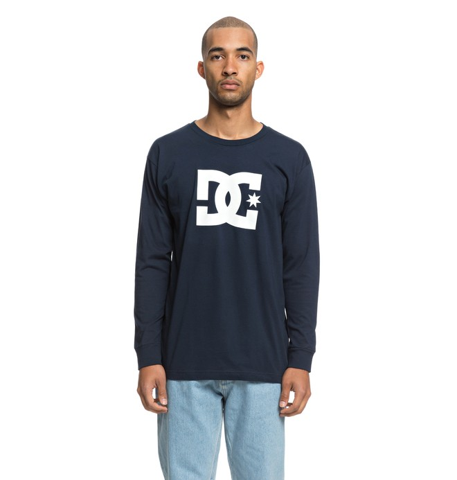 0 Star Long Sleeve Tee Blue ADYZT04376 DC Shoes