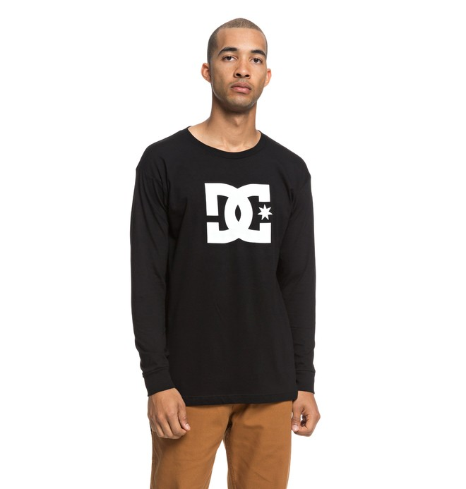 0 Star Long Sleeve Tee Black ADYZT04376 DC Shoes