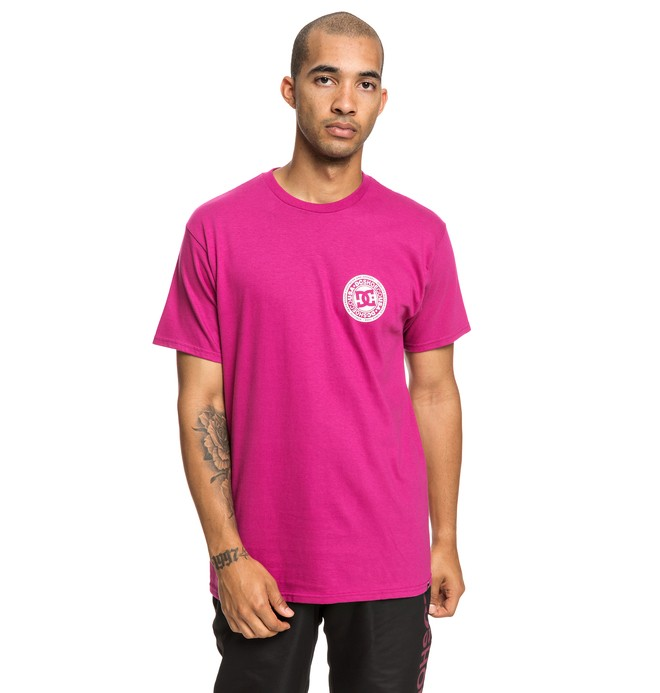 0 Circle Star Tee Pink ADYZT04377 DC Shoes