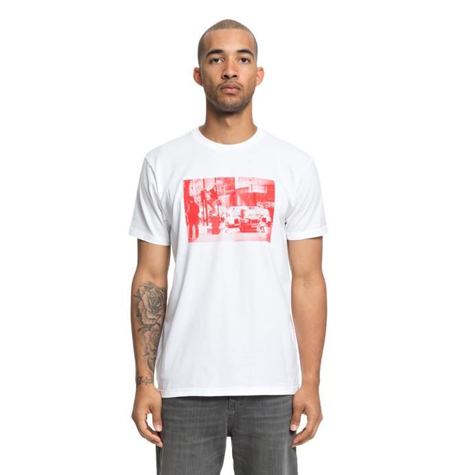0 Camiseta Shananhan London Blanco ADYZT04389 DC Shoes