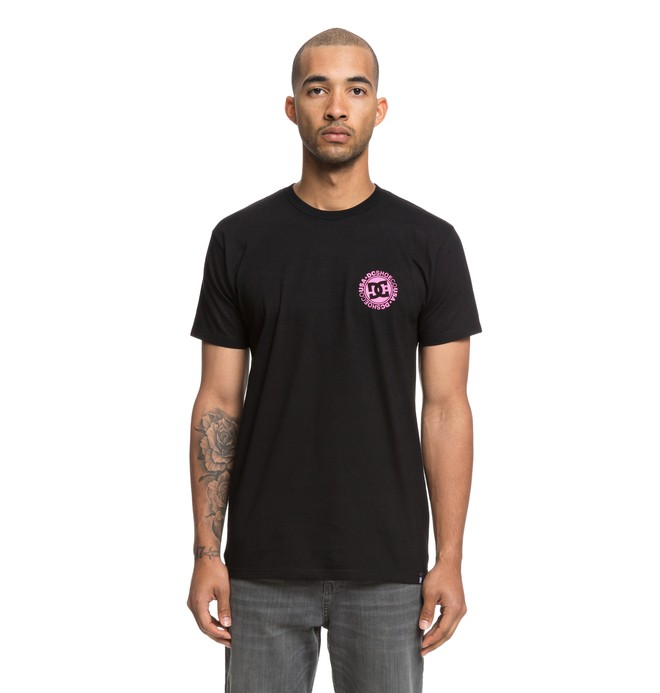 0 Love Park Tee Black ADYZT04390 DC Shoes