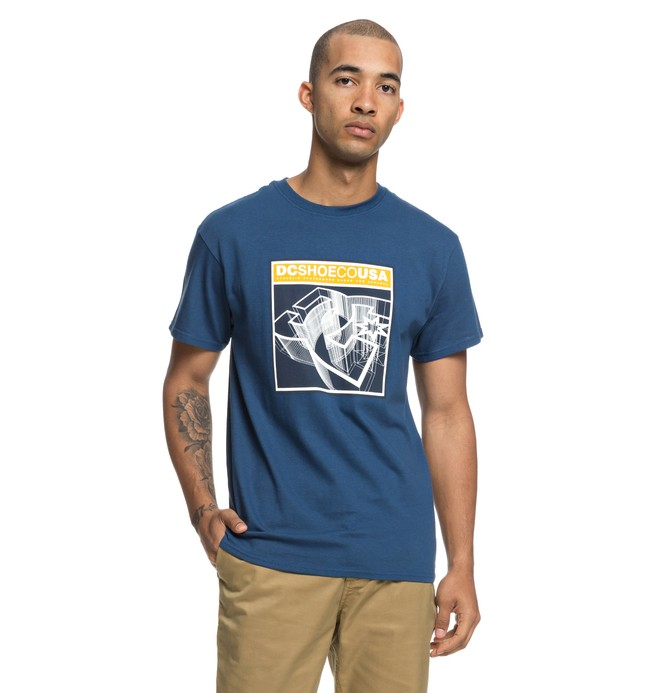 0 Terrain Tee Blue ADYZT04401 DC Shoes
