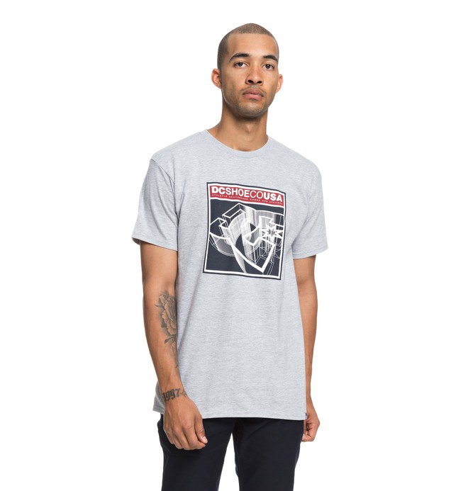 0 Terrain Tee Grey ADYZT04401 DC Shoes