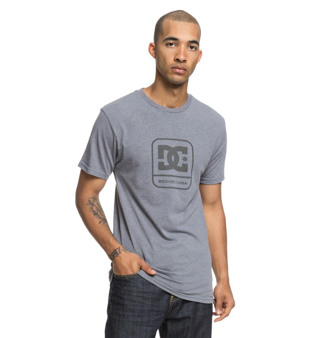 0 Off Limit Tee Grey ADYZT04405 DC Shoes