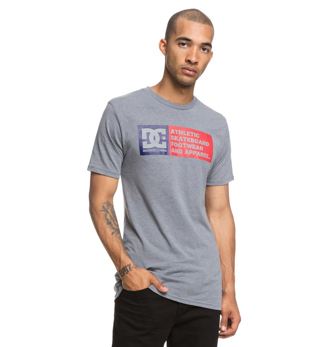 0 Camiseta Vertical Zone Gris ADYZT04406 DC Shoes