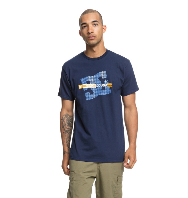 0 Blocker Tee Blue ADYZT04421 DC Shoes