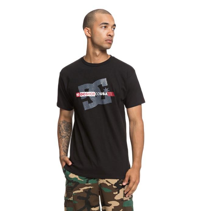 0 Blocker Tee Black ADYZT04421 DC Shoes