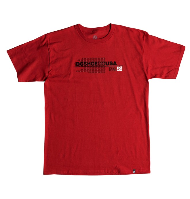 0 Flipgrade Tee Red ADYZT04422 DC Shoes