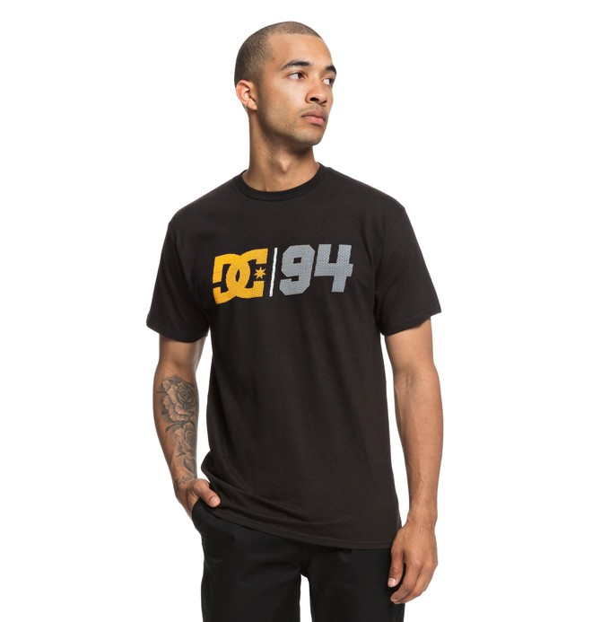 0 Spill Tee Black ADYZT04424 DC Shoes