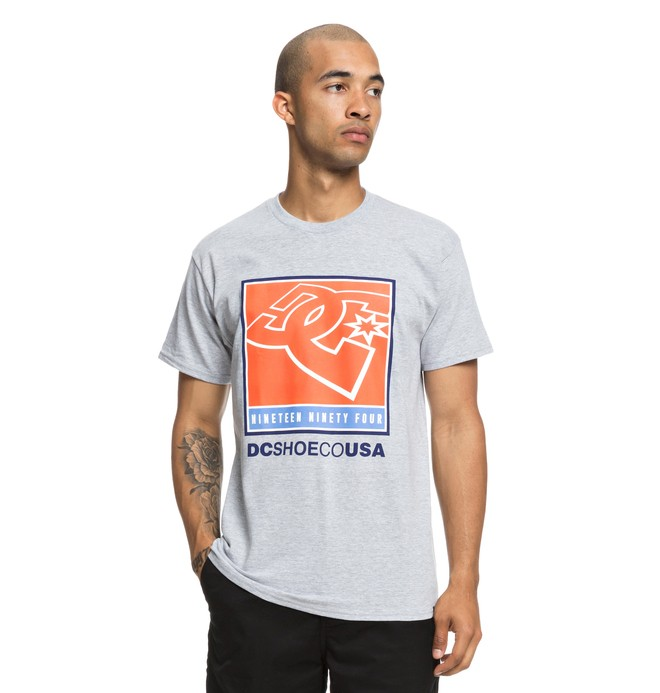0 Blahked Tee Grey ADYZT04441 DC Shoes