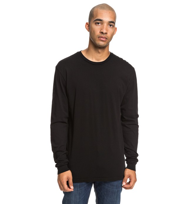 0 Top To Bottom Long Sleeve Tee Black ADYZT04504 DC Shoes