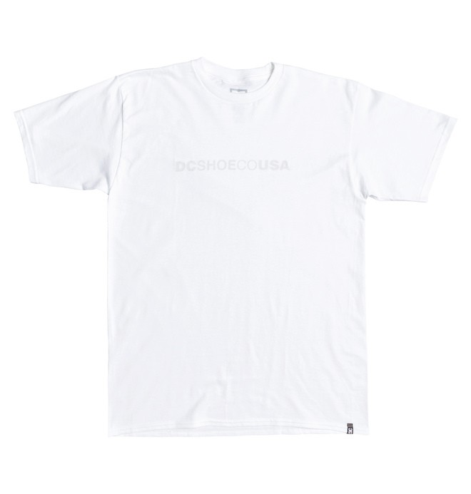 0 Side To Side Tee White ADYZT04509 DC Shoes