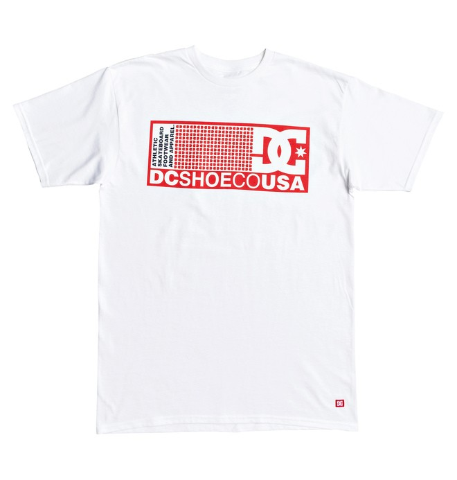 0 Pill Boster Tee White ADYZT04519 DC Shoes