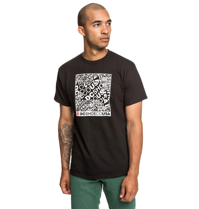 0 Cover Up Tee Black ADYZT04531 DC Shoes