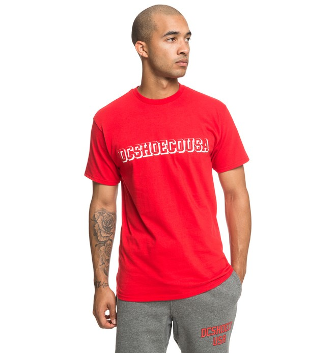 0 Fittest Tee Red ADYZT04532 DC Shoes