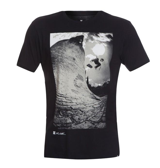 0 Camiseta Básica Disrupt Preto BR61113960 DC Shoes
