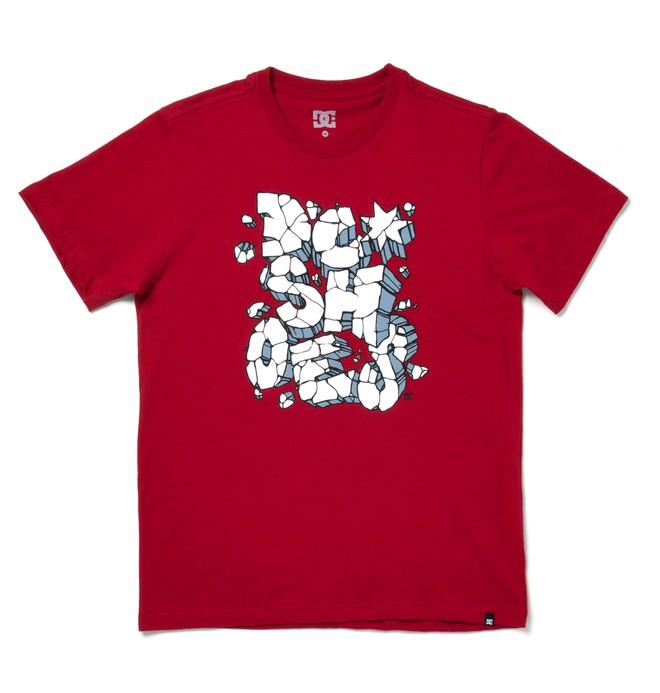 0 Camiseta básica juvenil Blowstone m/c Vermelho BR68111880 DC Shoes