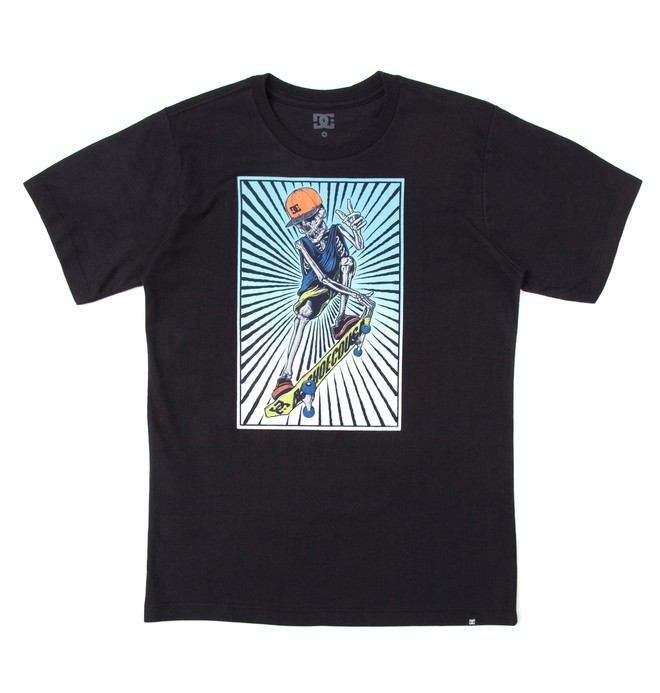 0 Camiseta Básica Juvenil Danny Preto BR68111926 DC Shoes