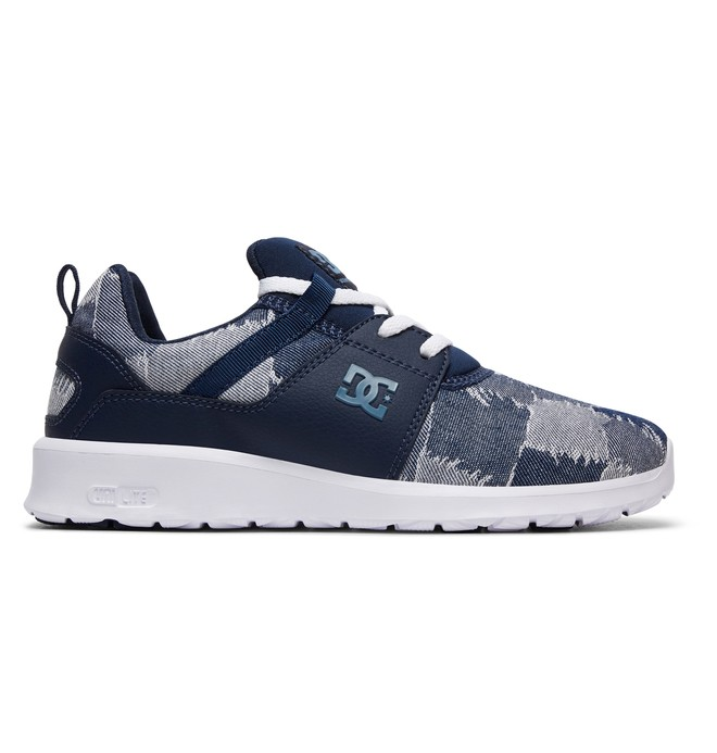0 Tenis Feminino DC Shoes Heathrow TX LE Azul BRADJS700049 DC Shoes