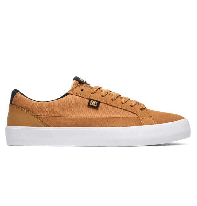 0 Tenis Masculino DC Shoes Lynnfield S Beige BRADYS300463 DC Shoes