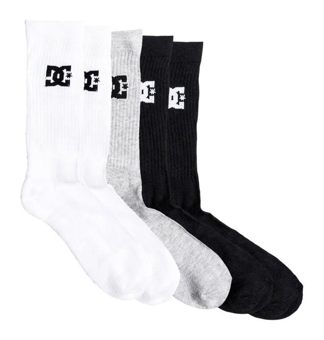 0 DC - Mi-chaussettes pour Garçon 8-16 ans  EDBAA03001 DC Shoes