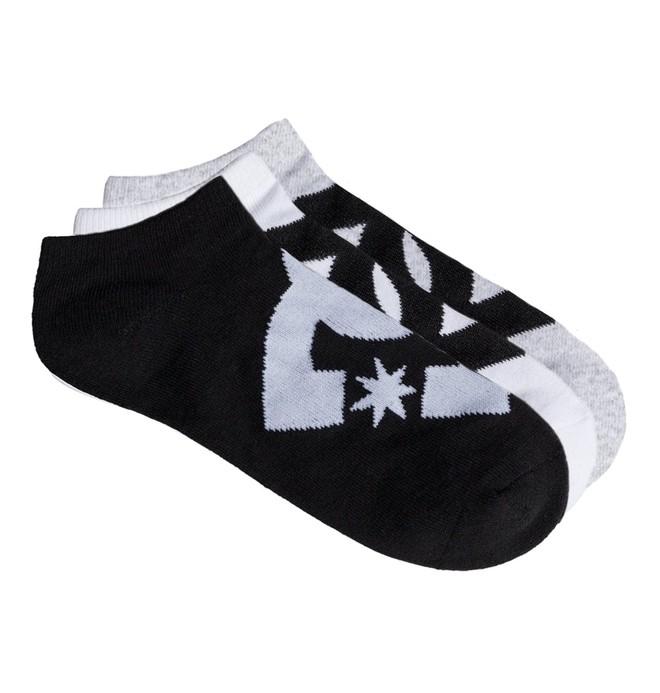 0 DC 3 Pack - Chaussettes courtes pour Garçon  EDBAA03002 DC Shoes