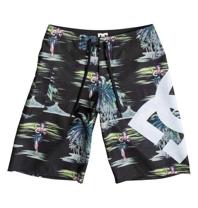 "0 Lanai Print 18"" - Board shorts  EDBBS03006 DC Shoes"