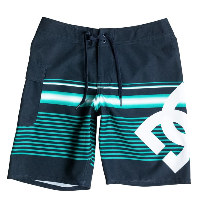 "0 Boy's 8-16 Lanai 17"" Boardshorts  EDBBS03021 DC Shoes"