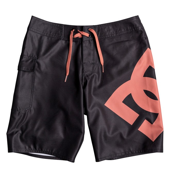 "0 Boy's 8-16 Lanai 17"" Boardshorts Blue EDBBS03029 DC Shoes"