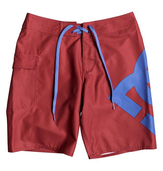 """0 Lanai 17"""" - Boardshorts für Jungen 8-16 Rot EDBBS03029 DC Shoes"""