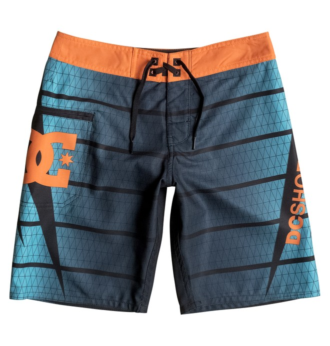 "0 Boy's 8-16 Harrise 17"" Boardshorts  EDBBS03030 DC Shoes"