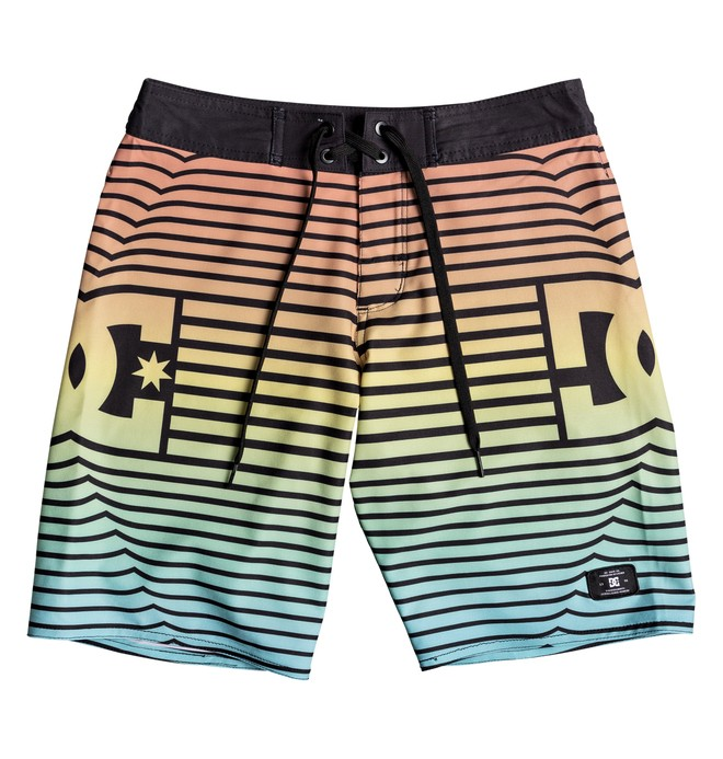"0 Boy's 8-16 Stroll It 17"" Boardshorts Black EDBBS03035 DC Shoes"