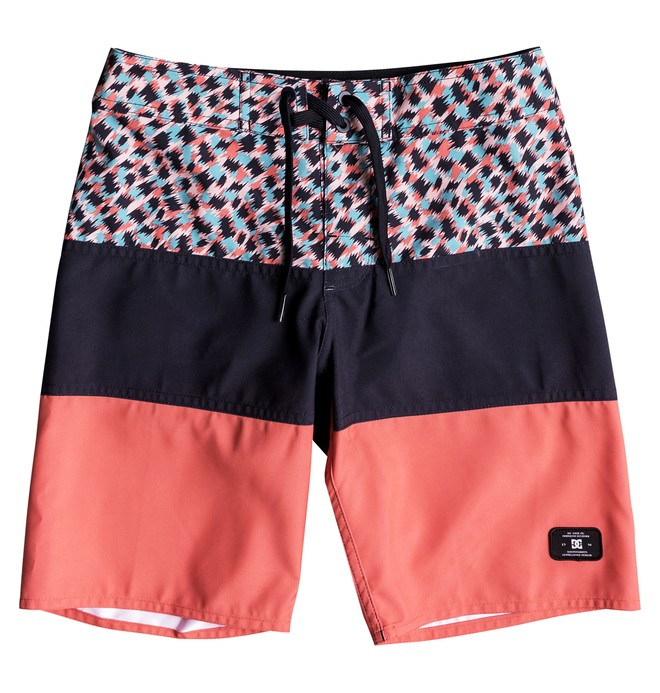 "0 Hot Blocked 16"" - Boardshorts para Chicos 8-16 Azul EDBBS03037 DC Shoes"
