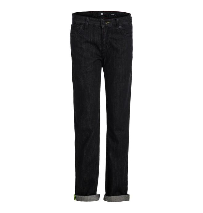 0 Straight Black Rinse  By  EDBDP03003 DC Shoes