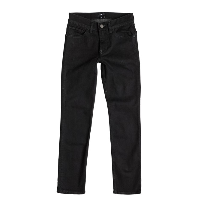 0 Worker Slim Fit Black Rinse - Jean slim  EDBDP03016 DC Shoes