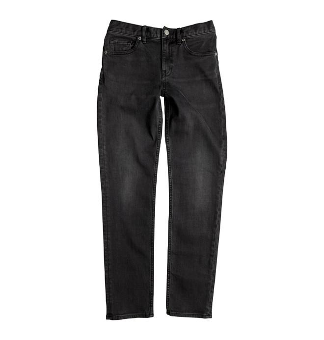 0 Washed Medium Grey - Jean coupe slim  EDBDP03029 DC Shoes