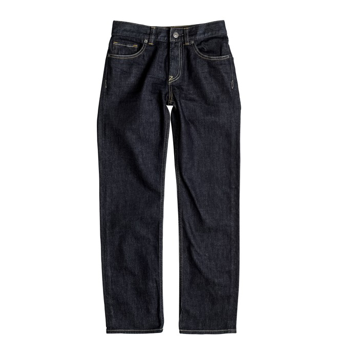 0 Worker Indigo Rinse - Straight Fit Jeans Blue EDBDP03034 DC Shoes