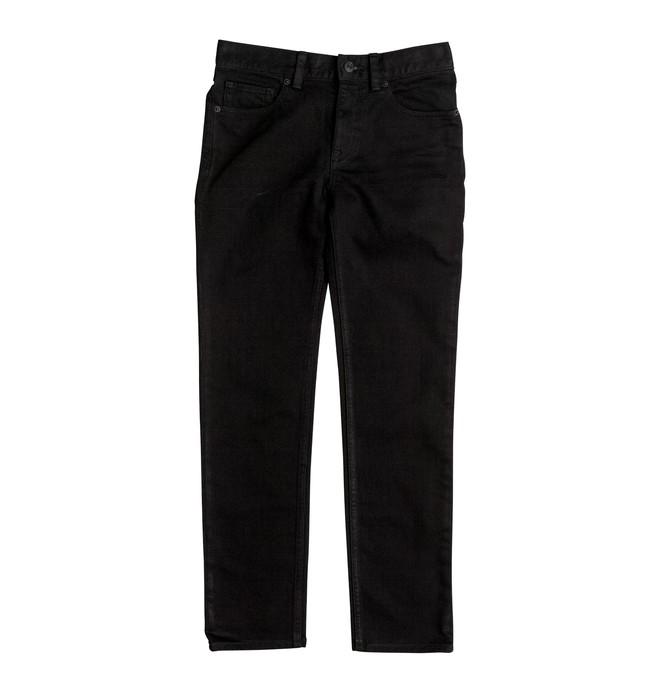 0 Worker Black Rinse - Slim Fit Jeans Black EDBDP03035 DC Shoes