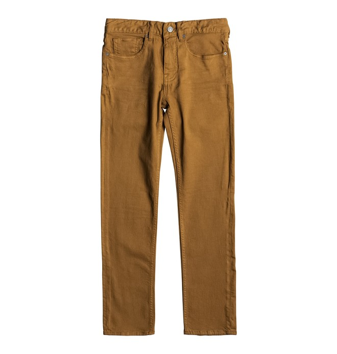 0 Sumner Slim - Slim Fit Jeans Orange EDBDP03039 DC Shoes