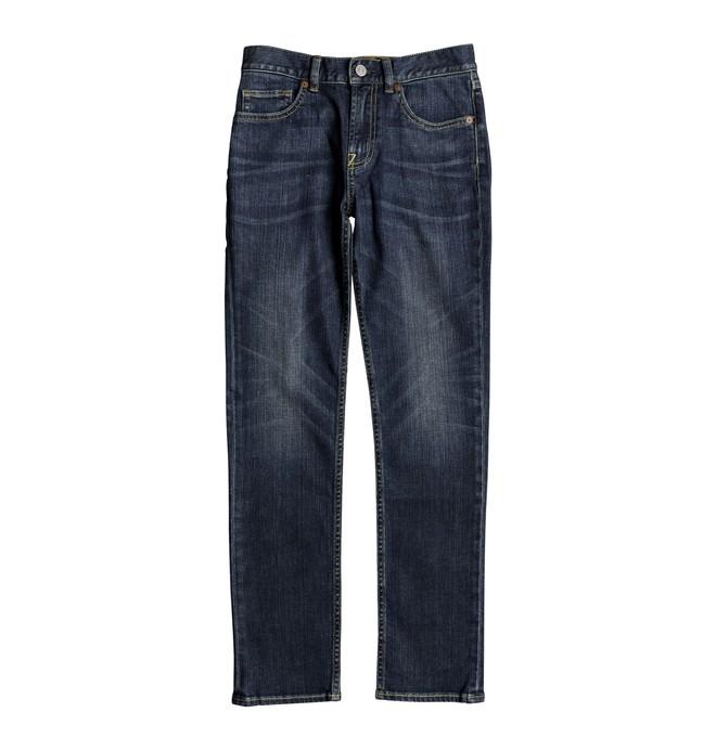 0 Boy's 8-16 Worker Medium Stone Slim Fit Jeans  EDBDP03047 DC Shoes