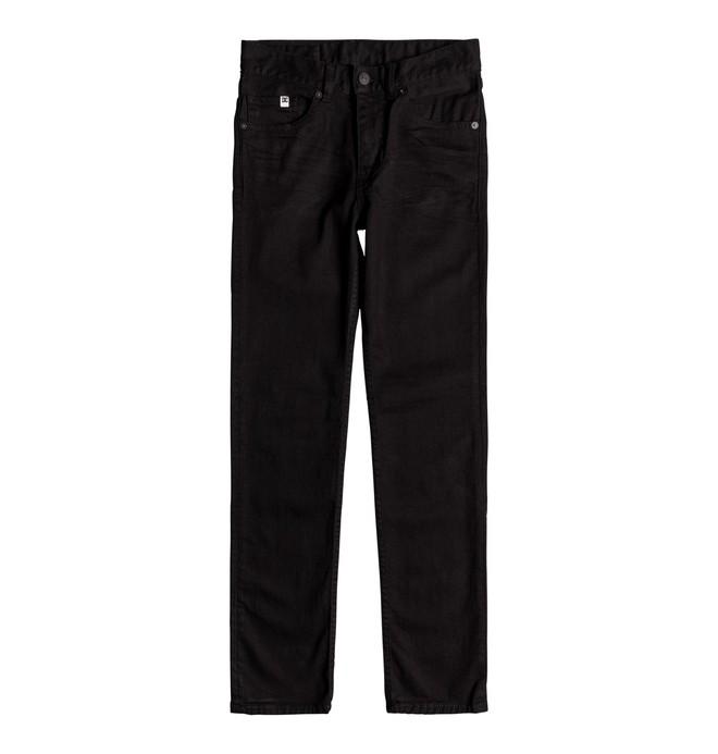 0 Worker - Jean slim pour Garçon 8-16 ans Noir EDBDP03048 DC Shoes