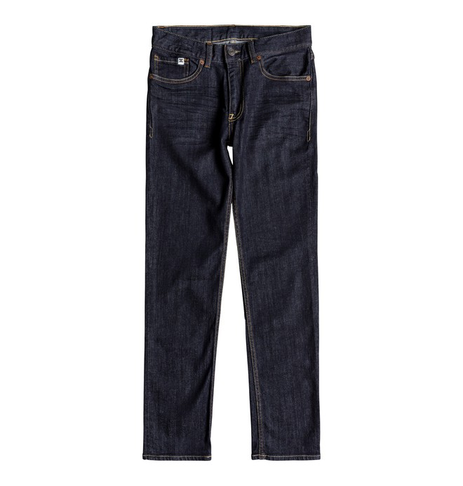 0 Worker Indigo Rinse - Slim Fit Jeans for Boys 8-16 Blue EDBDP03049 DC Shoes