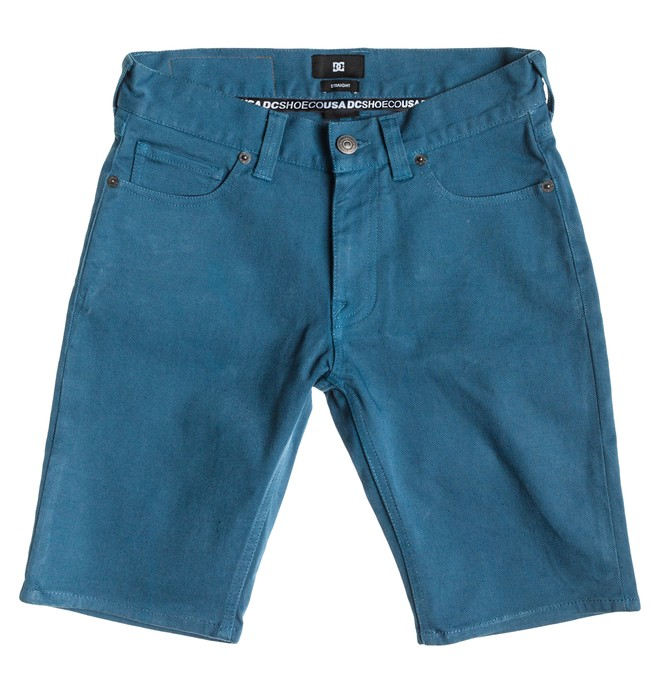 0 Worker Color Straight Shorts Boy  EDBDS03001 DC Shoes