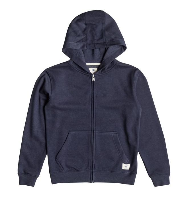 0 Rebel - Zip-Up Hoodie  EDBFT03034 DC Shoes