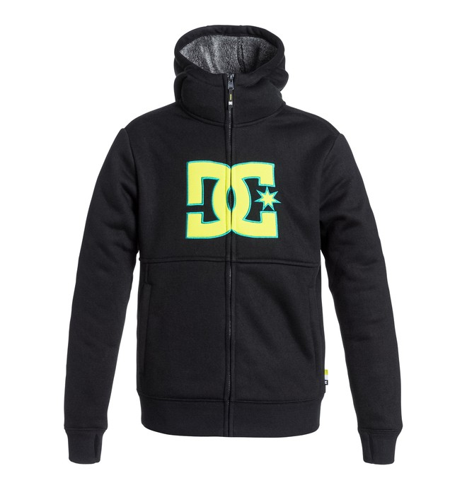 0 Boys's Billions Zip-Up Hoodie  EDBFT03038 DC Shoes