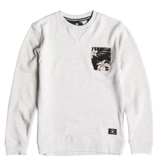 0 Bellingham - Sweatshirt Gray EDBFT03054 DC Shoes
