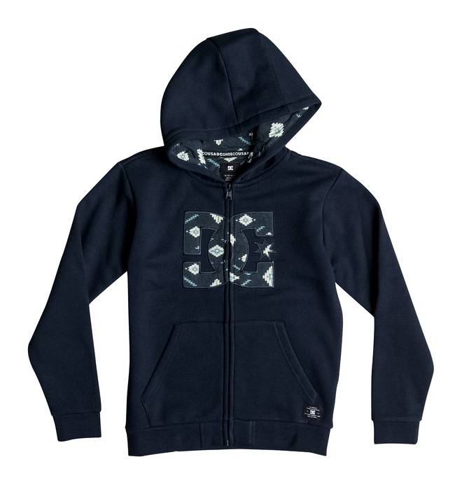 0 Hook Up - Zip-Up Hoodie for Boys 8-16  EDBFT03084 DC Shoes